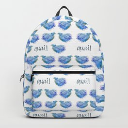 Blue Quail Backpack