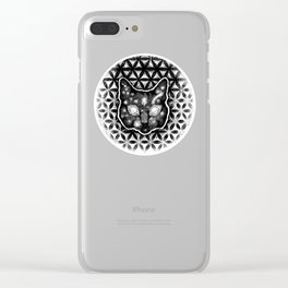 Tranquil CatLife Clear iPhone Case