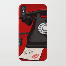 Late Call  iPhone X Slim Case