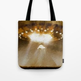 Ancient Aliens Tote Bag