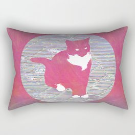 Cat Next Door Rectangular Pillow