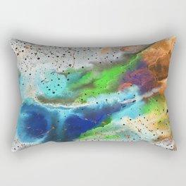 Space in negative Rectangular Pillow