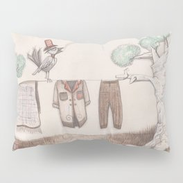 A bird Pillow Sham