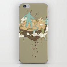 Frog Rain iPhone Skin