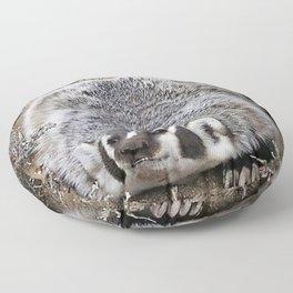Mr. Badger Floor Pillow
