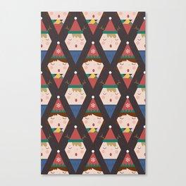 A Christmas Carol (Patterns Please) Canvas Print