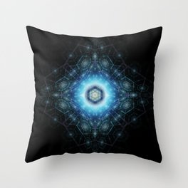 Dimensional Geometry Throw Pillow
