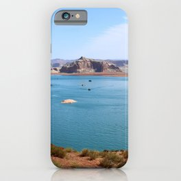 Lake Powell Impression iPhone Case