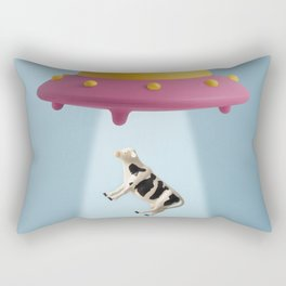 Abducted Cow Rectangular Pillow