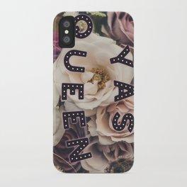 Yas Queen iPhone Case