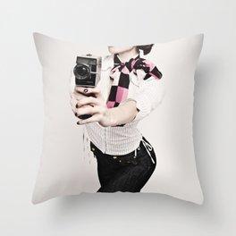 8mm #2 Throw Pillow
