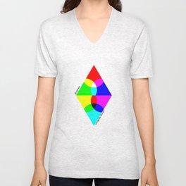 RGB CMYK Unisex V-Neck