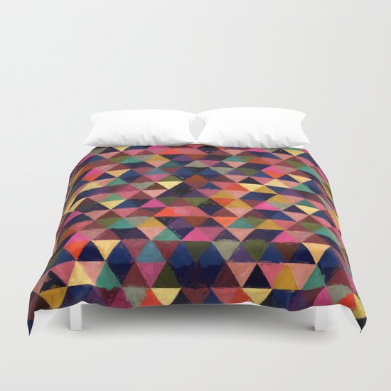 Abstract #374 Duvet Cover
