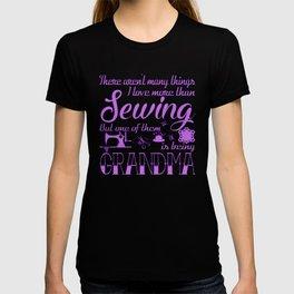 Sewing Grandma T-shirt