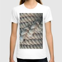 nautical T-shirts featuring NAUTICAL  ROPE by Manuel Estrela 113 Art Miami