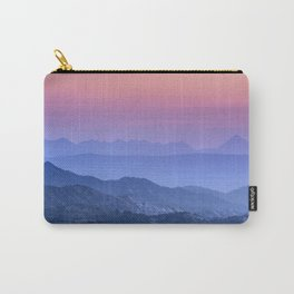"""""""Mountain dreams"""". At sunset. Carry-All Pouch"""