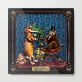 The Curiosity Shop Monkey Business Metal Print