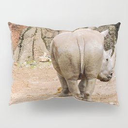 Rhino butt Pillow Sham