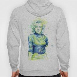 Marilyn Watercolor Hoody