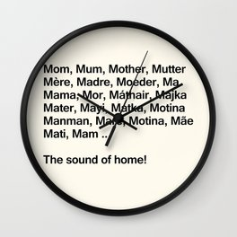 Mothers Day VII Wall Clock