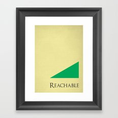 sustainability Framed Art Print