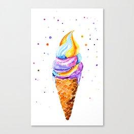 ice cream. Canvas Print
