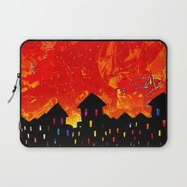 Orange Sky Laptop Sleeve