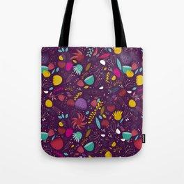 purple seeds Tote Bag