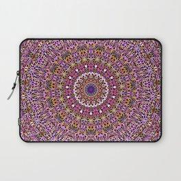 Colorful Spiritual Garden Mandala Laptop Sleeve