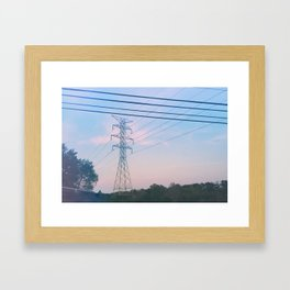 Wired Nature Framed Art Print