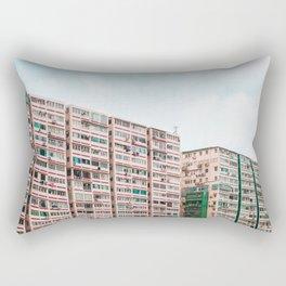 Crowded apartment Rectangular Pillow