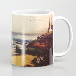 Italian American Masterpiece 'Early Morning' New York by Alfred de Giorgio Crimi Coffee Mug