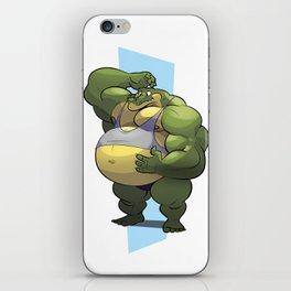 Beach Bod Croc iPhone Skin