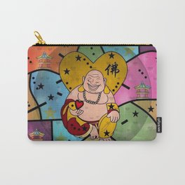 Buddah Popart by Nico Bielow Carry-All Pouch