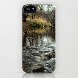 Oak Creek at Red Rock Crossing iPhone Case