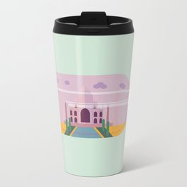 Taj Mahal, Travels in a Bottle by Madelyn DiPasquale Travel Mug
