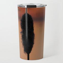 Cattail of glowing seeds Travel Mug