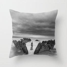The SS Nornen Throw Pillow
