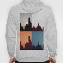 Borobudur - Sunrise and sunset Hoody