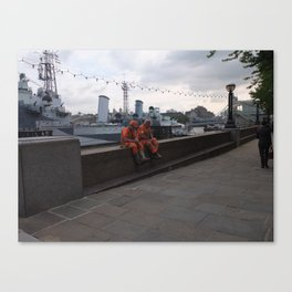 Worker Canvas Print