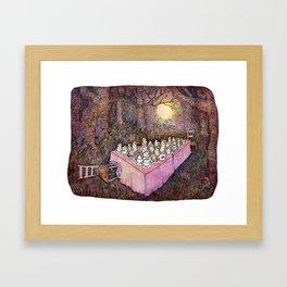 After Tea Framed Art Print