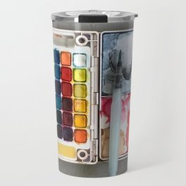 A Sloppy Paintbox is a Happy Paintbox Travel Mug