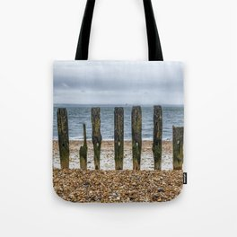 Southsea Seafront - Stumps! Tote Bag