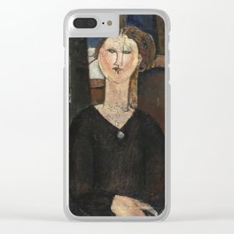 Amedeo Modigliani - Antonia Clear iPhone Case