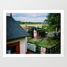 Bodiam Station, Kent & East Sussex Railway Art Print