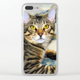 Bengal Tom Clear iPhone Case