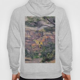 1882 - Paul Cezanne - Morning View of L'Estaque Against the Sunlight Hoody