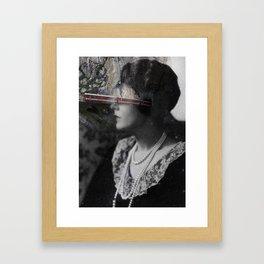 Every time you go away Framed Art Print