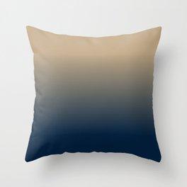Midnight Sonata in Blue Throw Pillow