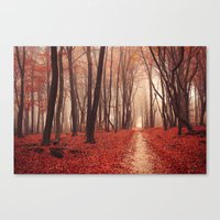 pagan Canvas Prints featuring Pagan Poetry by tvurk